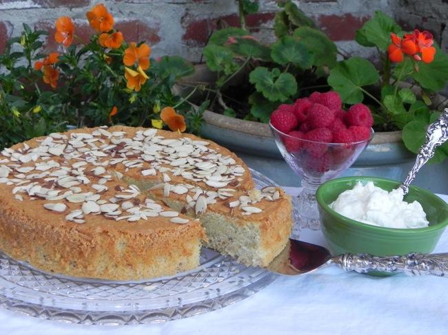 Almond Amaretto Cake