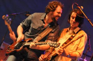 Patterson Hood and Mike Cooley of the Drive-By Truckers. Photo by Derek Moreton