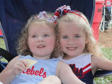 Chloe Anderson & Taylor Grace Hamilton, daughters of current & future owners Photo by Seph Anderson / HottyToddy.com