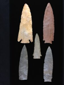 North Mississippi arrowheads
